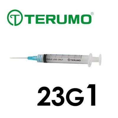 Terumo 23G Syringe/Needle